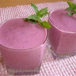Triple Threat Fruit Smoothie.