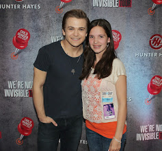 Photo: Kylee & Hunter Hayes at his We're Not Invisible Concert on Friday May 1st, 2014 in Lowell MA!! The theme of Hunter's tour is Ending Childhood Hunger  ~ just like the mission of Kylee's Kare Kits for Kidz!! So very exciting!!