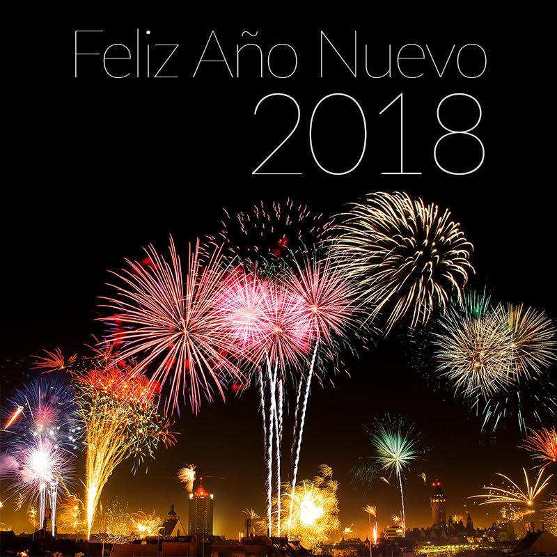 Feliz 2018 Marylú Flores