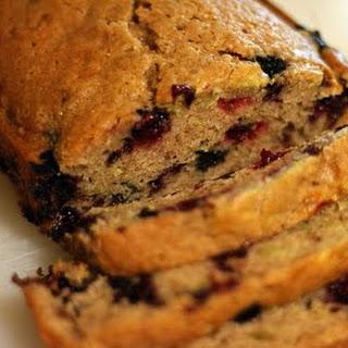 Grain Free Blueberry Bread
