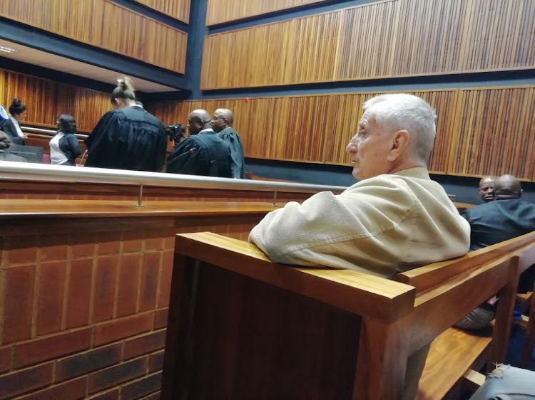 João 'Jan' Rodrigues made a brief appearance in court on January 28 2019 in connection with the murder of Ahmed Timol.