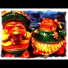 Photo: Mexican figurines #intercer - via Instagram, http://instagr.am/p/KQimSnpfht/