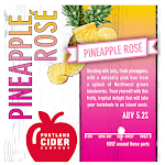 Portland Cider Pineapple Rose