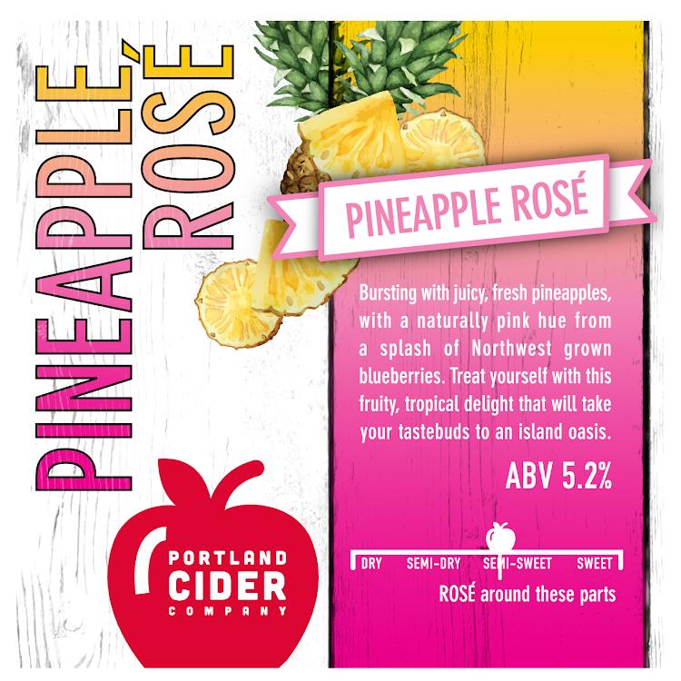 Logo of Portland Cider Pineapple Rose