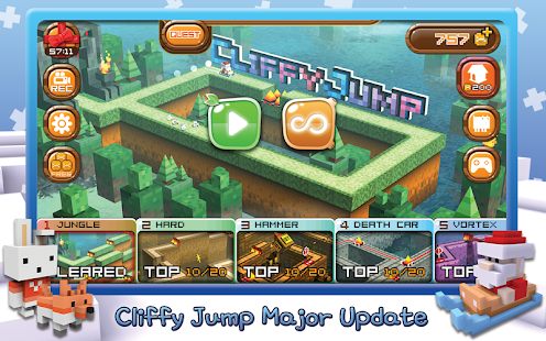 Cliffy Jump : Heroes never die- screenshot thumbnail