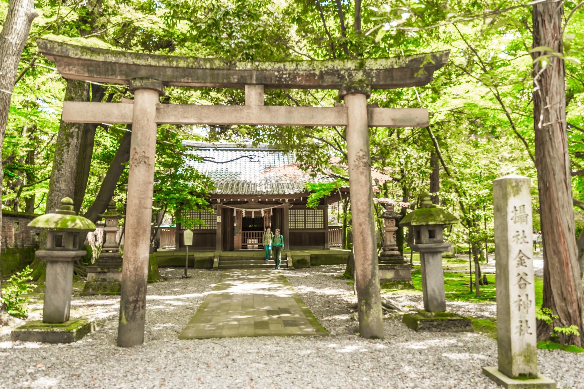 金沢 尾山神社 金谷神社