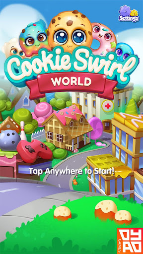 Cookie Swirl World - screenshot