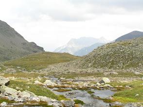 Photo: De Freissinières à Dormilliouse: formation du torrent de Chichin
