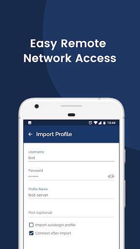 OpenVPN Connect – Fast & Safe SSL VPN Client screenshot