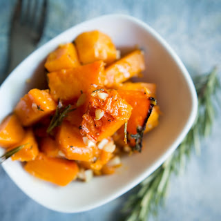 Roasted Herb and Garlic Butternut Squash