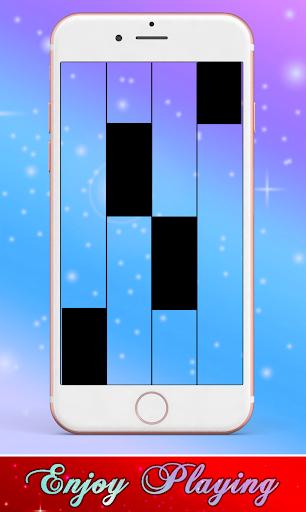 Daddy Yankee & Snow - Con Calma Piano Black Tiles screenshot 4