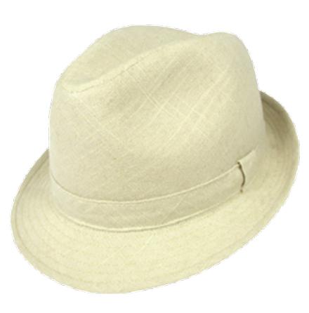 Fedora Linen Hat
