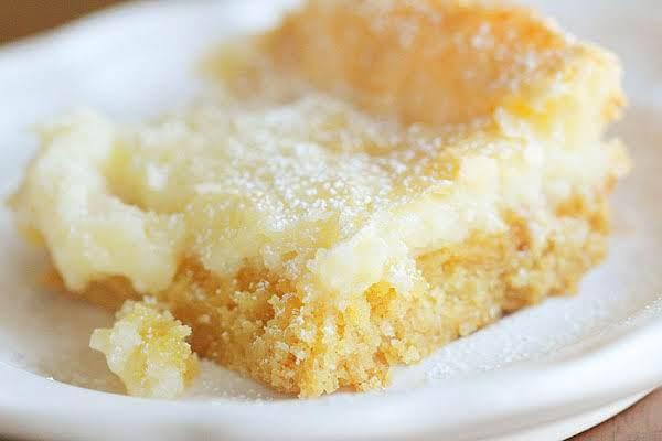 Vanilla Cream Cheese Squares