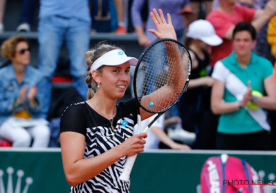 Elise Mertens is Vera Zvonareva in drie sets de baas
