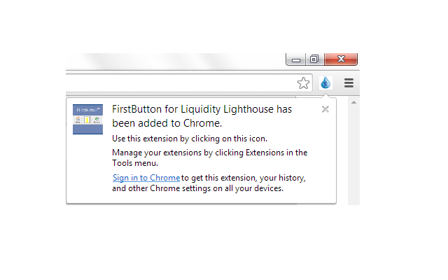 FirstButton for Liquidity Lighthouse