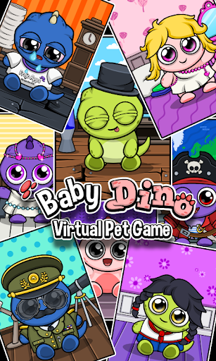 Dino ud83dudc3e Virtual Pet Game 1.3 screenshots 8