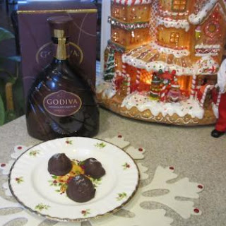 Jamie's Chocolate Liqueur Almond Candy.