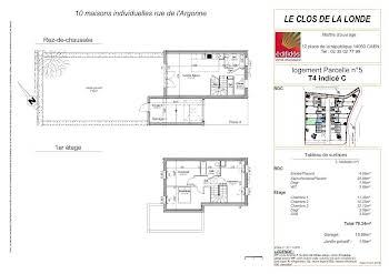 Maison 4 pièces 79,34 m2