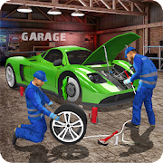 Autobahn Auto Mechaniker: Gas Bahnhof Spiele
