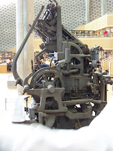 Photo: Another old printing press.  Sorry I don't have more information.