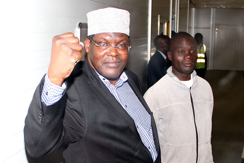 Image result for Miguna Miguna coming back home