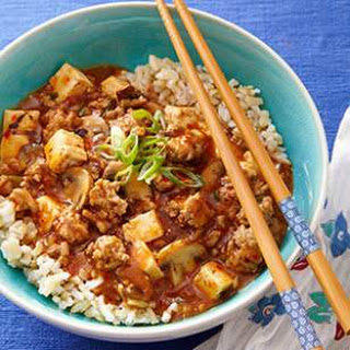 Turkey Ma Po Tofu