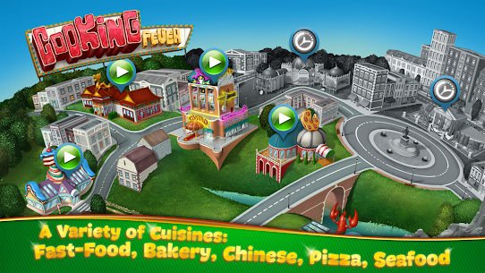 Cooking Fever Mod Apk 10.0.0 (Unlimited Coins + Gems) 2