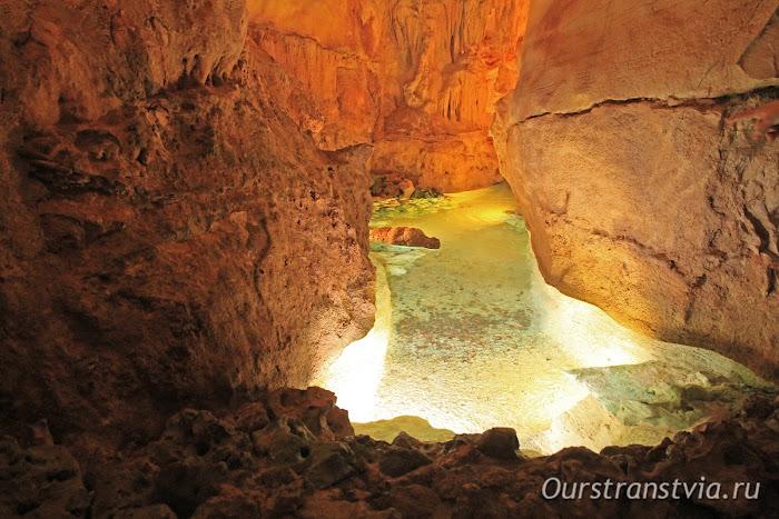 Пещеры в Португалии рядом с Лиссабоном