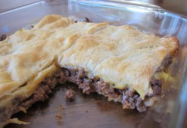 Homemade Hamburger Pie Recipe
