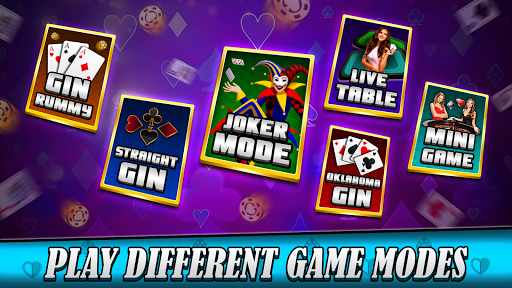 Gin rummy free Online card game painmod.com screenshots 1
