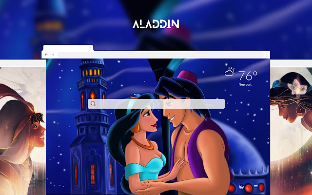 Aladdin HD Wallpapers New Tab