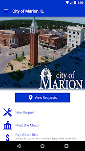 City of Marion, IL- screenshot thumbnail