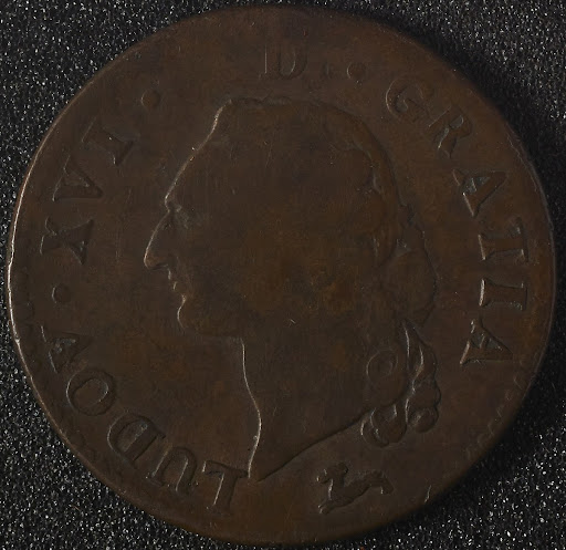 Copper French Coin