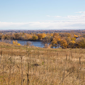 reservoir ridge by Greg Head - Novices Only Landscapes ( water, colors, fall, landscape, ponf )