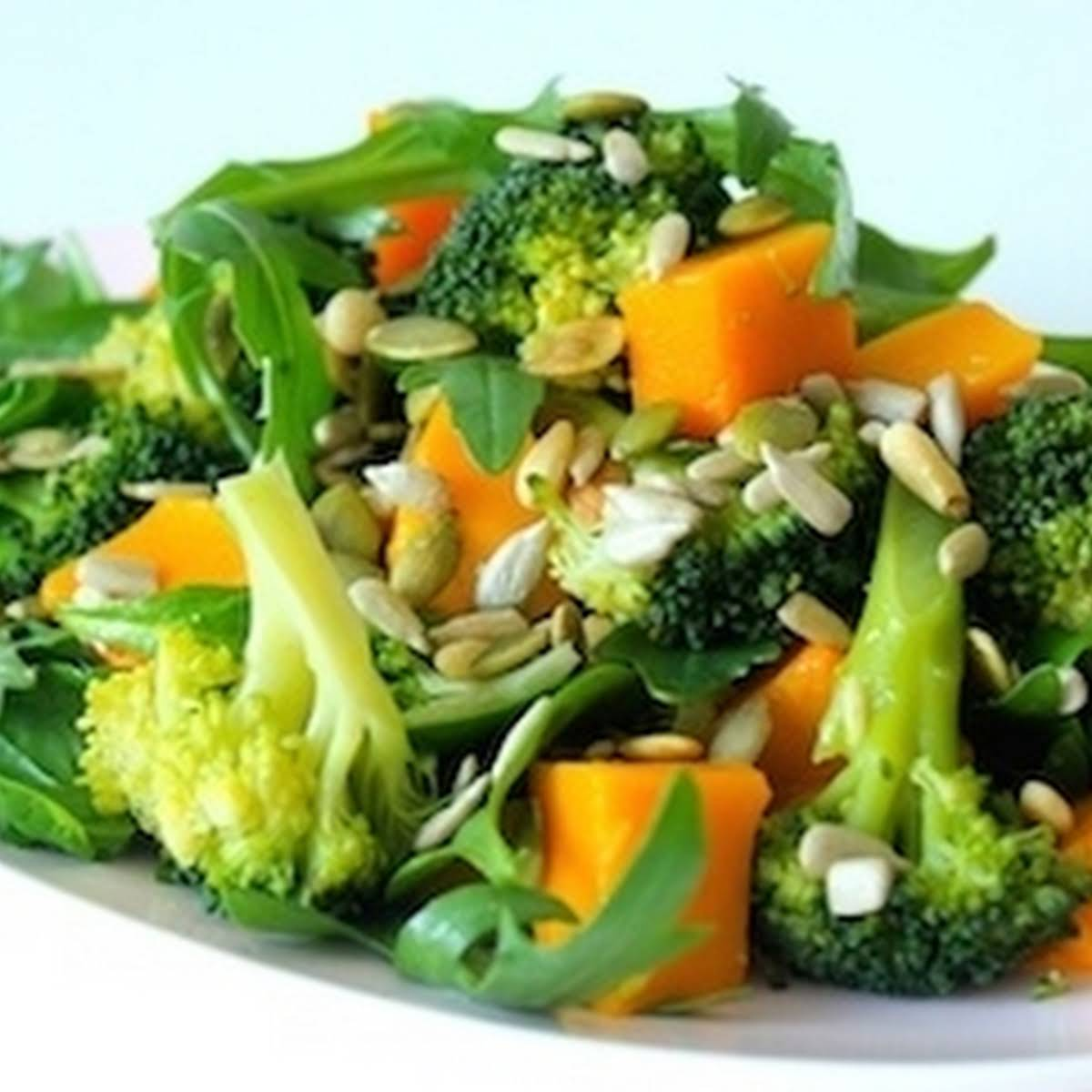Super Seed Pumpkin & Broccoli Salad
