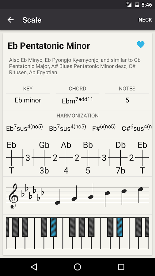 Chord! (Guitar Chord Finder)- screenshot