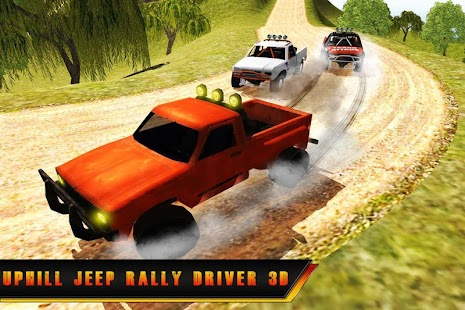 Uphill Jeep Rally Driver 3D - náhled