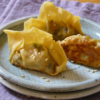 Almost Meatless Pork and Vegetable Pot Stickers