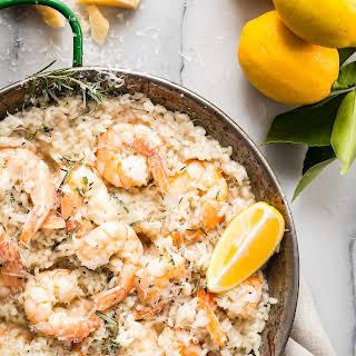 Lemon Shrimp Risotto.