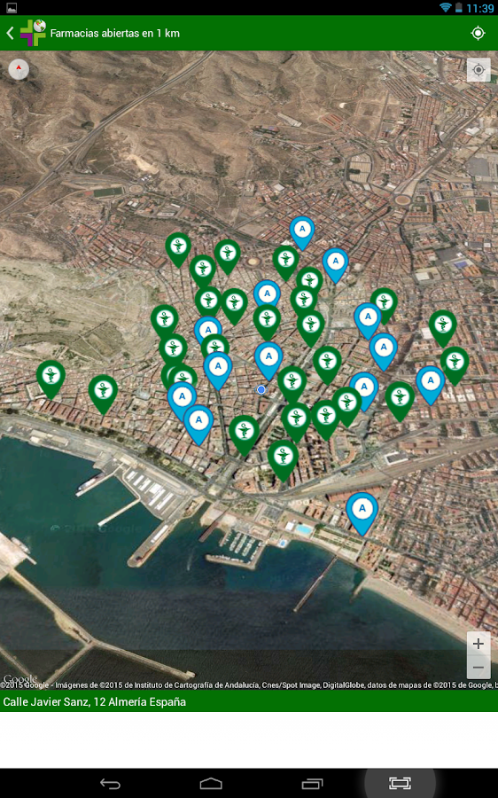 Farmappstop Almería- screenshot