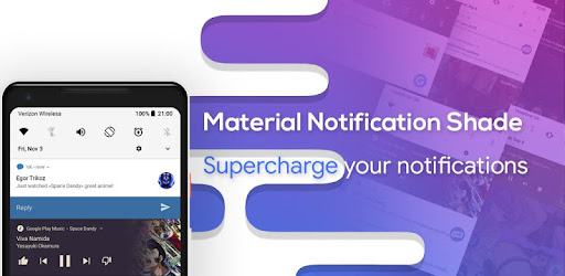 Material Notification Shade - Apps on Google Play