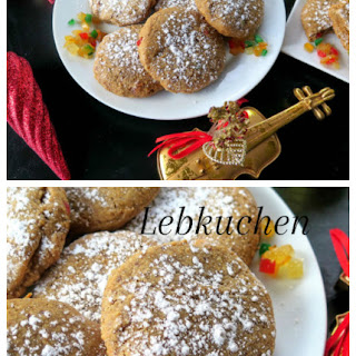 Lebkuchen-Spiced Molasses Cookies