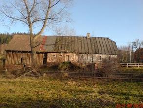 Photo: nasza chata od strony ogrodu, 2009 rok