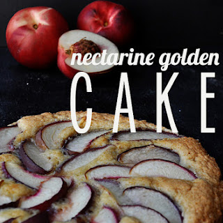 Nectarine Golden Cake (Gourmet, 2009)