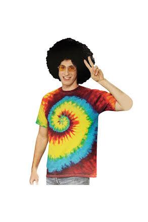 Batik t-shirt, hippie