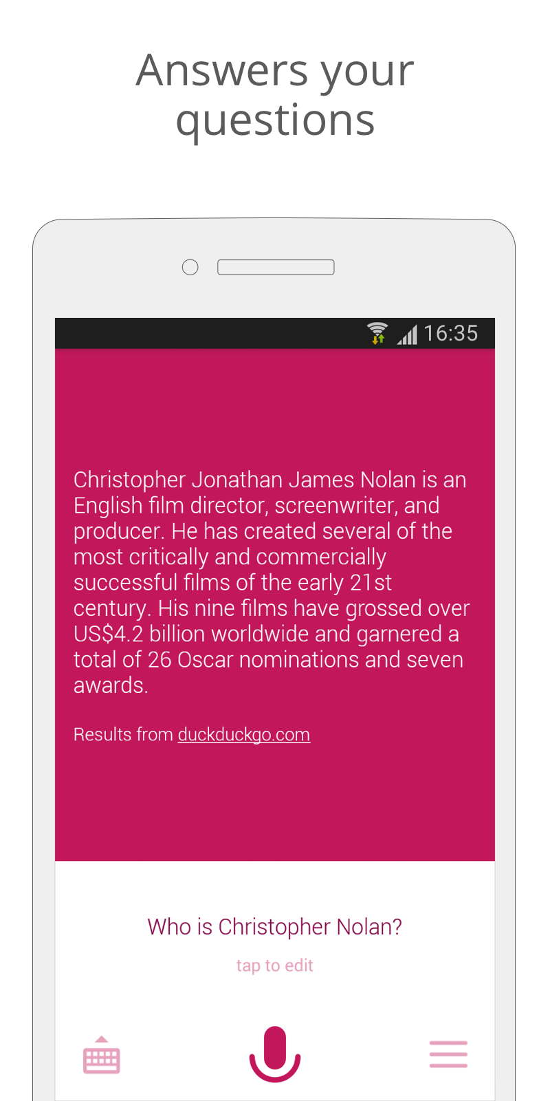 Assistant (Siri Alternative) screenshot #2