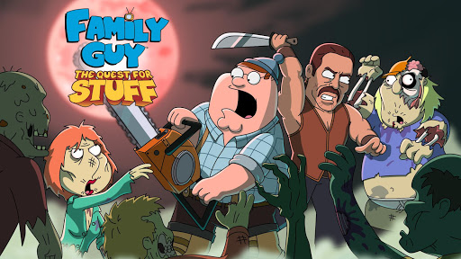 Family Guy The Quest for Stuff screenshot 1
