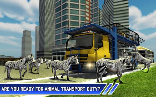 Zoo Animal Transport Truck 3D Airplane Transporter filehippodl screenshot 6