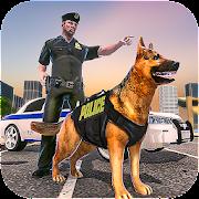 سوبر بطل الشرطة الكلب: لعبة مطاردة الجريمة APK