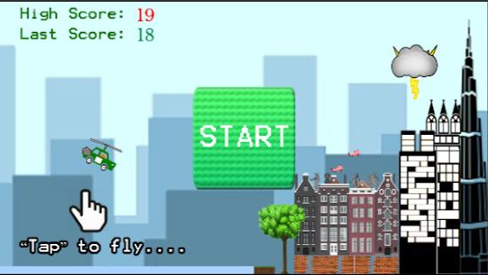 Sky Taxi Crash - náhled